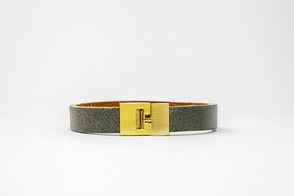 Made-In-Mayhem_Womens-Leather_Braclet_Green